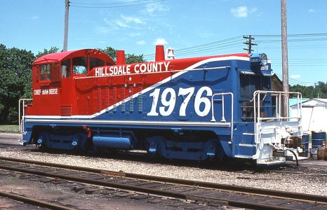 Hillsdale County Railroad at Bankers, MI